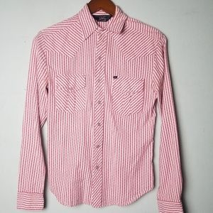 Striped Western Button Down